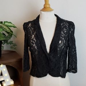 🚨NEW LIST! Poetry Lace Buttoned Blazer Cardigan